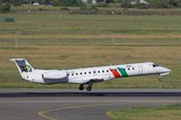 CS-TPH @ LFBO - Embraer EMB-145EP, Landing rwy 14R, Toulouse-Blagnac airport (LFBO-TLS) - by Yves-Q
