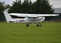 G-BOHI @ EGSQ - Cessna 152 at Clacton. Ex N49406 - by moxy