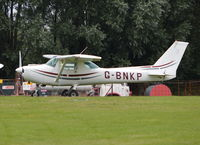 G-BNKP @ EGSQ - Cessna 152 at Clacton. Ex N49460 - by moxy