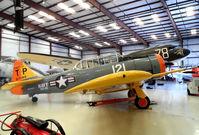 N5488V @ TIX - On display @ the TIX Museum of Flight - by Arthur Tanyel