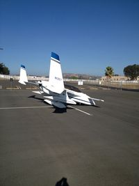 N12ET @ KRNM - Parked at Ramona airport. KRNM.  Great looking plane! - by Ed Fernandes
