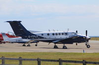 G-FPLD @ EGOV - G-FPLD Beech B200 on the Flight line at RAF Valley - by iestyn2000