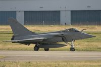 33 @ LFRJ - Dassault Rafale M, Taxiing after landing rwy 26, Landivisiau Naval Air Base (LFRJ) - by Yves-Q