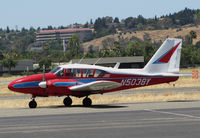 N5038Y @ KCCR - Aileron Buzz LLC (Daytona Beach, FL) 1962 PA-23-250 Aztec @ Buchanan Field-Concord, CA - by Steve Nation