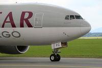 A7-BFC @ LOWG - Qatar Cargo B.777-FDZ @ GRZ Nice Crew... - by Stefan Mager