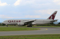 A7-BFC @ LOWG - Qatar Cargo B.777-FDZ @ GRZ