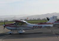 N1230B @ KLVK - 2007 Cessna T182T visiting @ KLVK (Livermore Municipal Airport, CA) - by Steve Nation