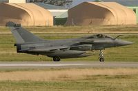 37 @ LFRJ - Dassault Rafale M, Taxiing after landing rwy 26, Landivisiau Naval Air Base (LFRJ) - by Yves-Q