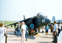 162087 @ SWF - McDonnell Douglas AV-8B Harrier II at the 1989 Stewart International Airport Air Show, Newburgh, NY - by scotch-canadian