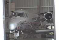 N143DH @ DAB - Harley Davidson plane in new hangar