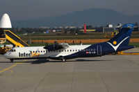 OE-LIB @ LOWG - Intersky ATR-72 @ GRZ - Diversion from SOB - by Stefan Mager