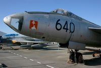 640 @ LFBO - Sud Aviation SO.4050B Vautour IIB, Preserved at Les Ailes Anciennes Museum, Toulouse-Blagnac - by Yves-Q