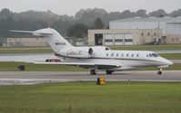N953QS @ DAB - Net Jets Citation X