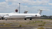 N959PG @ OPF - unmarked MD-83, ex Austral Lineass Aereas
