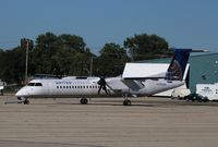 N332NG @ KRFD - DHC-8-402 - by Mark Pasqualino