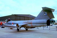 D-8280 @ EGDY - Lockheed F-104G Starfighter [683-8280] (Royal Netherlands Air Force) RNAS Yeovilton~G 05/08/1978. From a slide.
