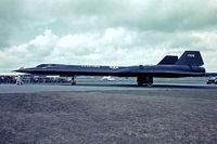 61-7972 @ EGLF - Lockheed SR-71A Blackbird [2023] (United States Air Force) Farnborough~G 08/09/1974 - by Ray Barber