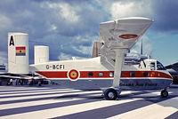 G-BCFI @ EGLF - Short SC-7 3M-400 Skyvan [SH1930] (Short Brothers PLC) Farnborough~G 08/09/1974. From a slide. For the Ghana Air Force.