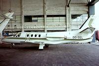 OO-SEL @ EBAW - Cessna Citation I [500-0133] (Air Select) Antwerp-Deurne~OO 12/05/1979. From a slide.