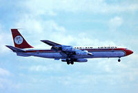 G-AYSL @ EGKK - Boeing 707-321 [17599] (Dan-Air London) Gatwick~G 01/07/1974. From a slide date approximate.