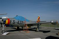 51-10809 @ LFBO - Republic F-84G Thunderstreak, Preserved at Les Ailes Anciennes Museum, Toulouse-Blagnac - by Yves-Q