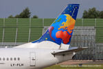 LY-FLH @ EGCC - Small Planet Airlines - by Chris Hall