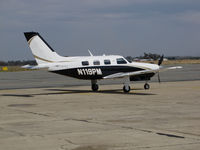 N119PM @ KPRB - Southern California-Based 2014 PA-46R-350T Matrix visiting @ Paso Robles Municipal Airport, CA - by Steve Nation