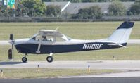 N1108F @ ORL - Cessna 172G - by Florida Metal