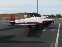 N10048 @ KPAO - 2002 Mooney M20R @ Palo Alto Airport, CA - by Steve Nation