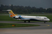 9A-BTE @ LOWG - Trade Air Fokker 100 @ GRZ - by Stefan Mager