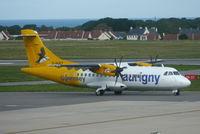 G-HUET @ EGJB - Just landed at Guernsey