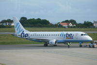 G-FBJI @ EGJB - About to depart from Guernsey.