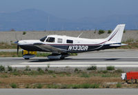 N133DR @ KSQL - Visiting 2005 Piper PA-32-301XTC taking off @ San Carlos Airport, CA - by Steve Nation