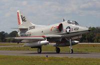 N2262Z @ TIX - A-4 Skyhawk