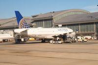 N818UA @ KRDU - Airbus A319 at the Raleigh-Durham Airport. - by Eric Olsen
