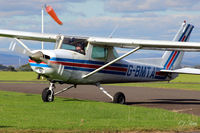 G-BMTA @ EGPT - Mounting the grass at Perth EGPT - by Clive Pattle
