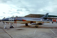 XE689 @ EGDY - Hawker Hunter GA.11 [HABL003032] (Royal Navy) RNAS Yeovilton~G 05/08/1978. From a slide>