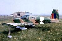 OO-HGC @ EBGB - Grumman American AA-1C Lynx [AA1C-0118] Grimbergen~OO 13/05/1979. From a slide.
