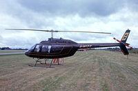 G-WIZZ @ EGDY - Agusta-Bell AB.206B Jet Ranger II [8540] RNAS Yeovilton~G 05/08/1978. From a slide.