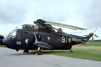 XV648 @ EGDY - Westland WS.61 HAS.1 Sea King [WA636] (Royal Navy) RNAS Yeovilton~G 05/08/1978