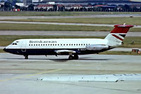G-AVGP @ EGLL - BAC 1-11 408EF [114] (British Airways) Heathrow~G (Date unknown).From a slide.