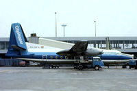 PH-KFH @ EHAM - Fokker F.27-200 Friendship [10256] (KLM Cityhopper) Amsterdam-Schiphol~PH 12/05/1979. From a slide