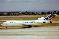 F-BPJQ @ EGLL - Boeing 727-228 [20470] (Air France) Heathrow~G (date unknown). From a slide.
