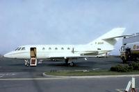 F-BIHY @ LFPB - Dassault Falcon 20C-5 [141] Paris Le-Bourget~F 14/09/1980. From a slide.