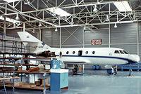 EP-AHV @ LFPB - Dassault Falcon 20E [320] Paris Le-Bourget~F 17/09/1978
