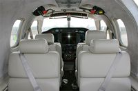 115 @ LFES - Socata TBM-700, Interior accommodation, Guiscriff airfield (LFES) open day 2014 - by Yves-Q
