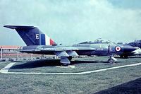 XH768 @ EGMC - Gloster Javelin FAW.9 [Unknown] (Royal Air Force) Southend~G 03/07/1974. From a slide.