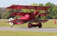N6404Q @ TIX - Fokker DR1