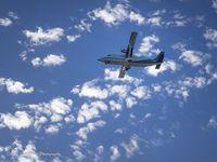 N618AN @ MYR - On approach to Myrtle Beach, South Carolina. - by van.sutherland