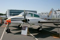 693 @ LFBO - Cessna 310Q, Preserved at Les Ailes Anciennes Museum, Toulouse-Blagnac - by Yves-Q